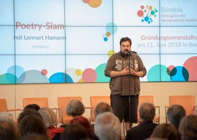 Poetry-Slammer Lennart Hamann