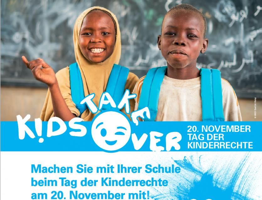 Kids take over! – Aufruf zum Internationalen Tag der Kinderrechte am 20. November