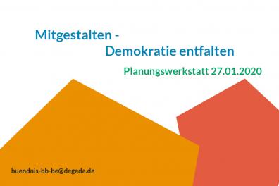 Mitplanen – Planungswerkstatt Bündnis