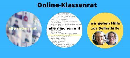 Wir machen Klassenrat … Online!