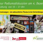 Einladung LAV-Berlin e.V. – Onlineveranstaltung: Rücküberweisungen – ein unbeachtetes Thema in der Entwicklungszusammenarbeit