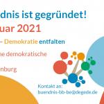 Bündnis gegründet am 18. Februar 2021
